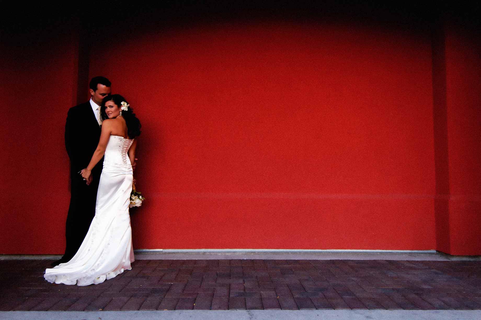 Les plus belles photos de mariages - Mur rouge ...